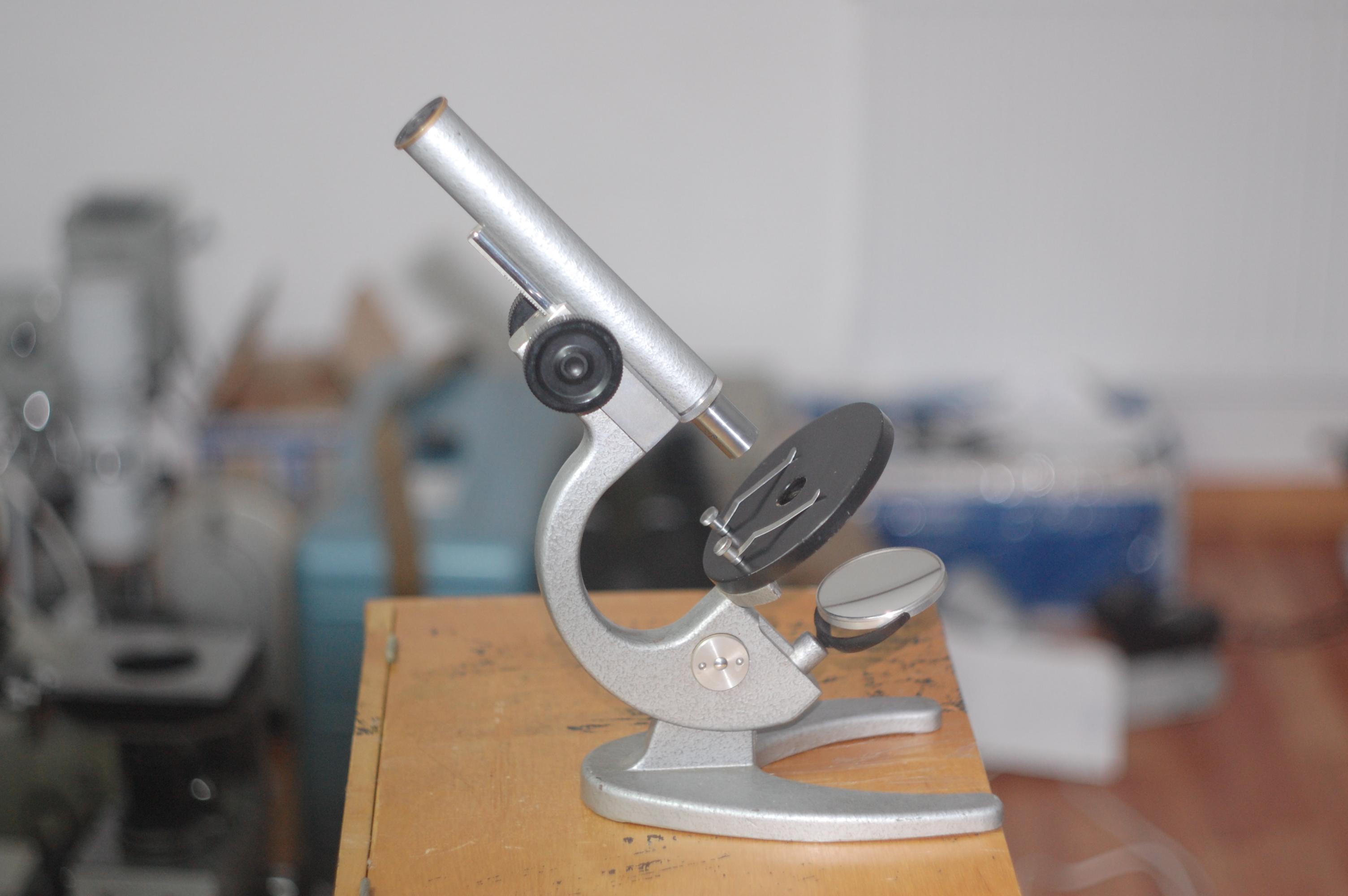 изображение в микроскопе прямое или обратное