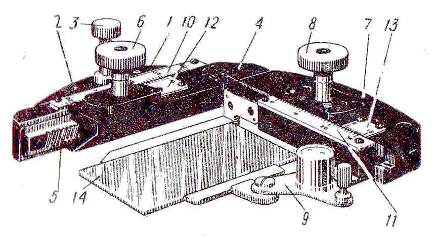 ст-11 препаратоводитель для микроскопа