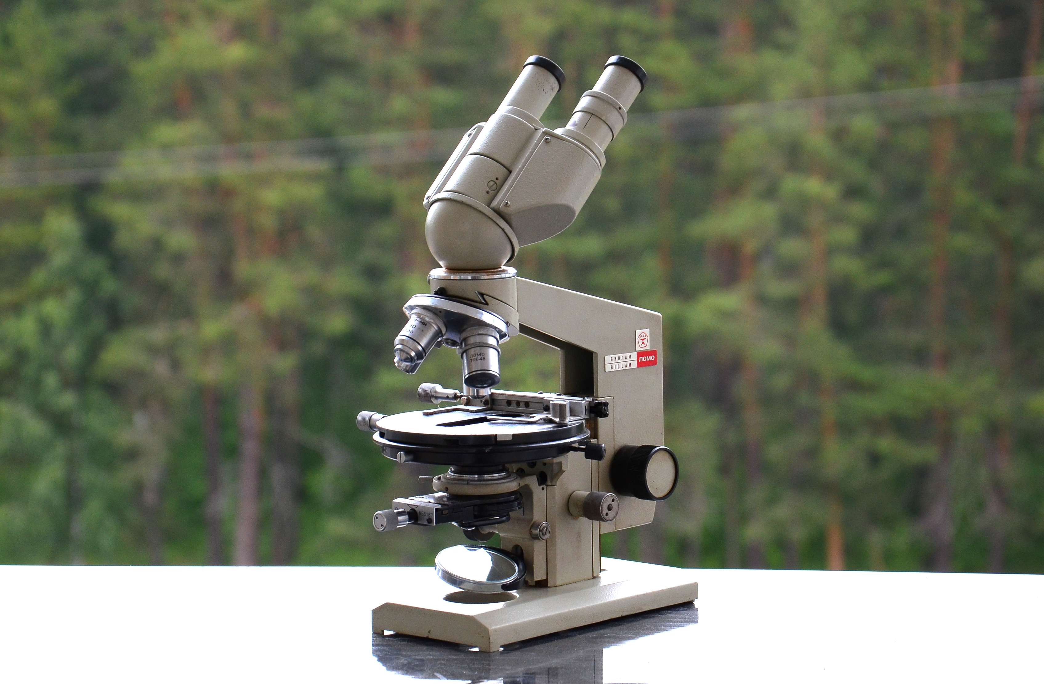 микроскоп биолам р7 фото