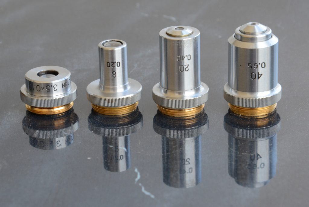 объективы микроскопа Биолам С2
