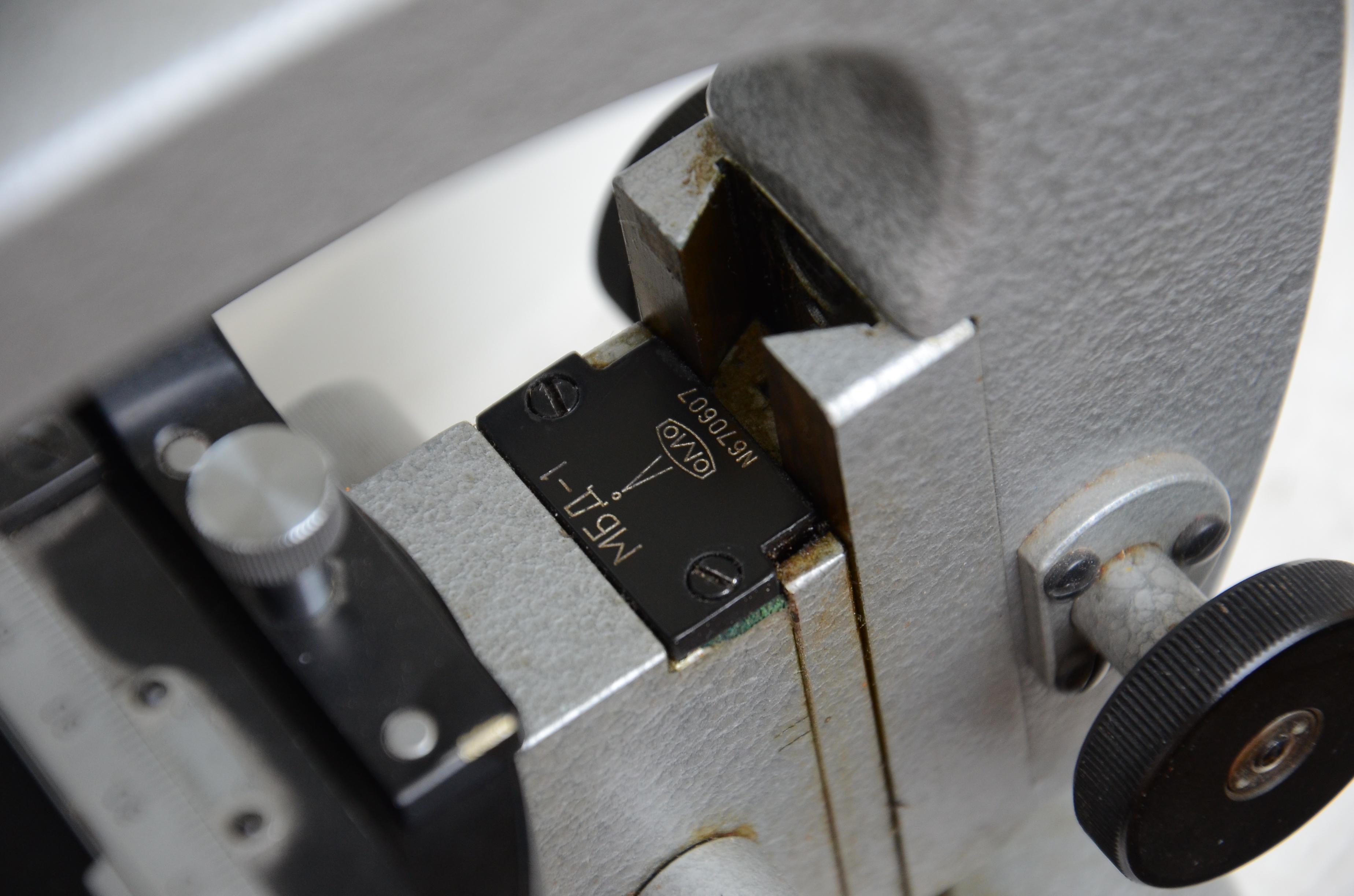 микроскоп биологический дорожный МБД-1 фото номера