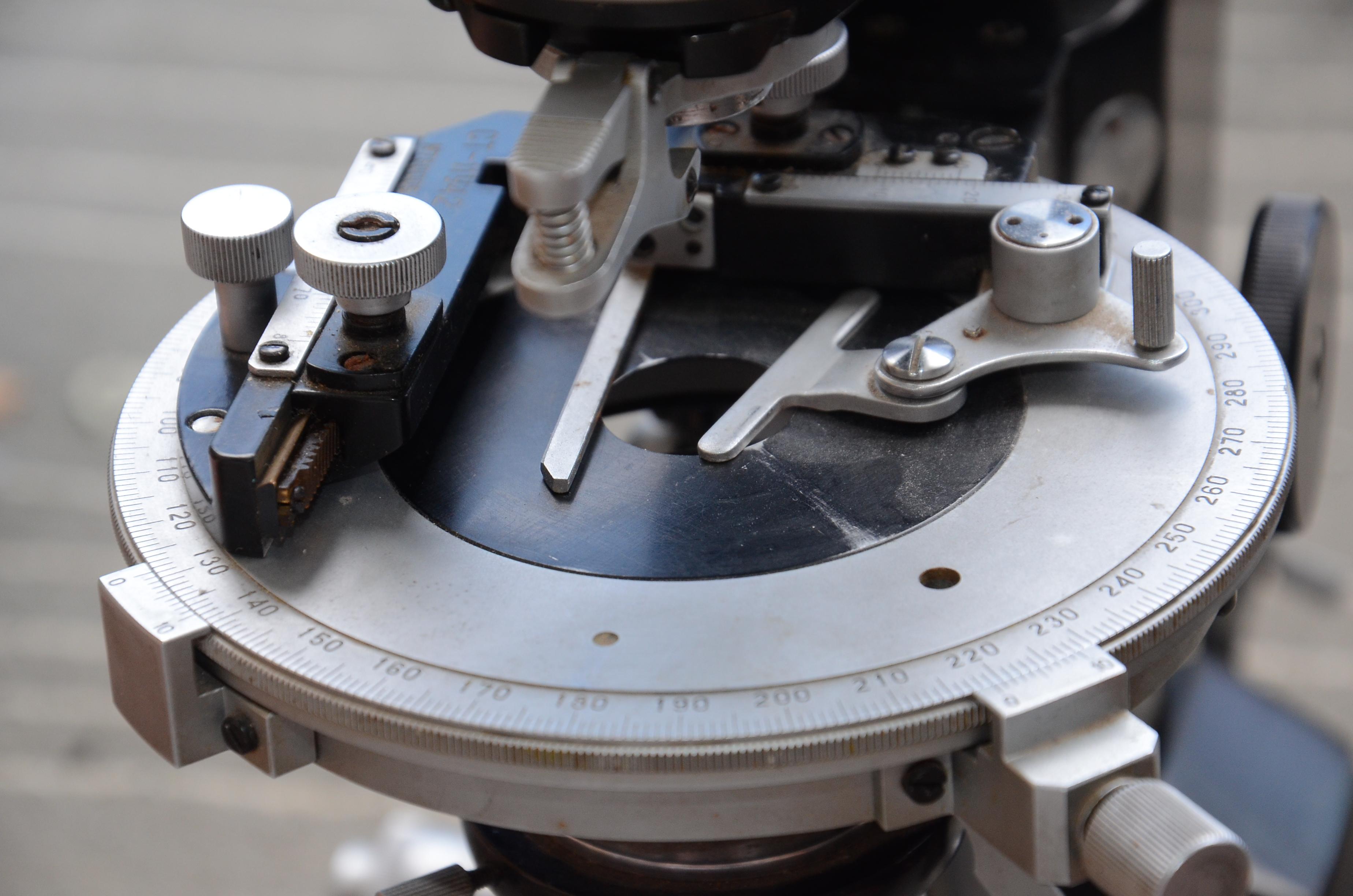 микроскоп мин-8 столик фото