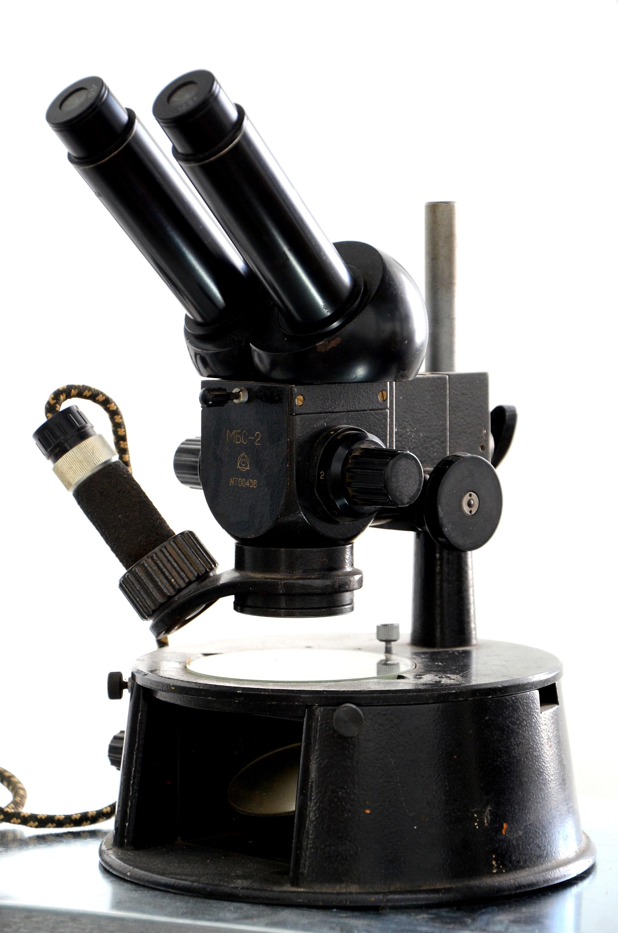 микроскоп мбс-2 фото