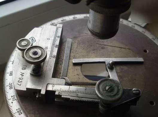 Препаратоводитель ПВ на микроскопе мп-3