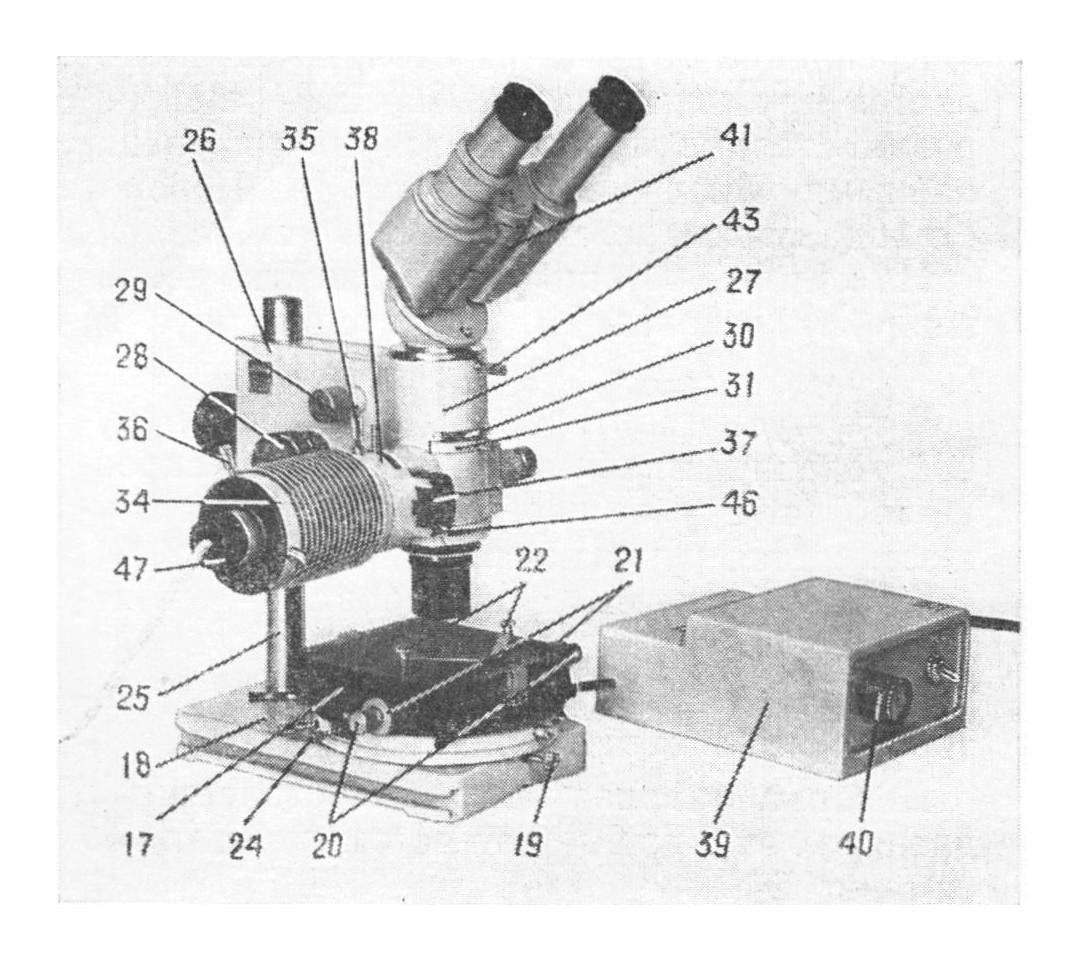 микроскоп мму-3 рис. 2