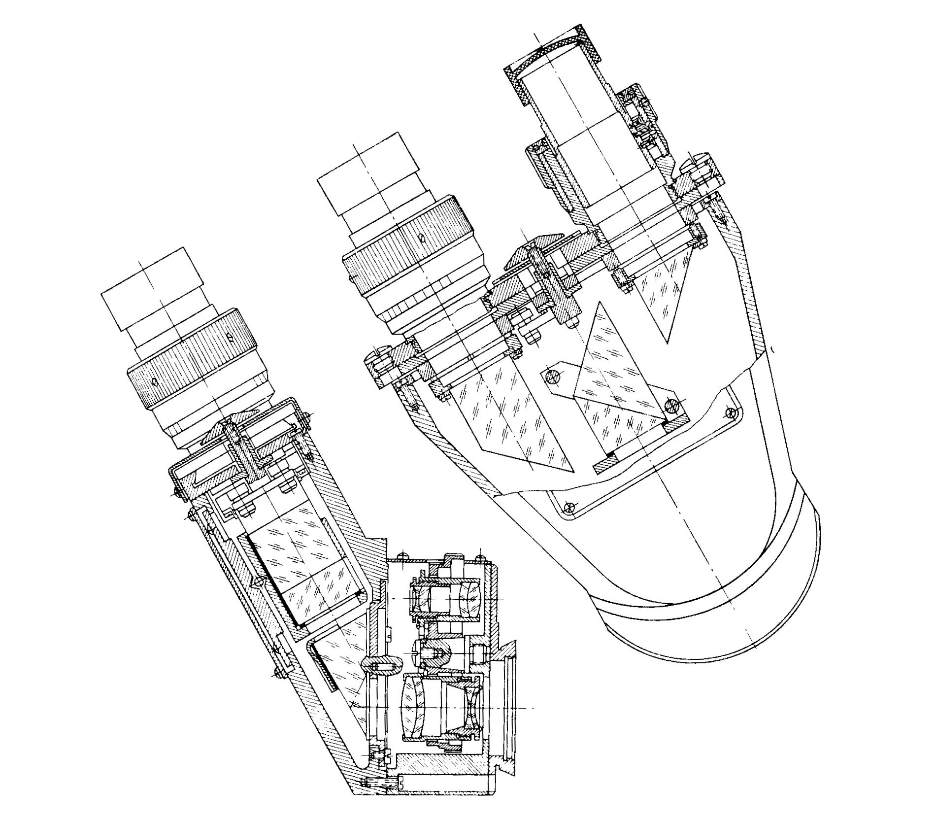 бинокулярная насадка АУ-26 рис. 1