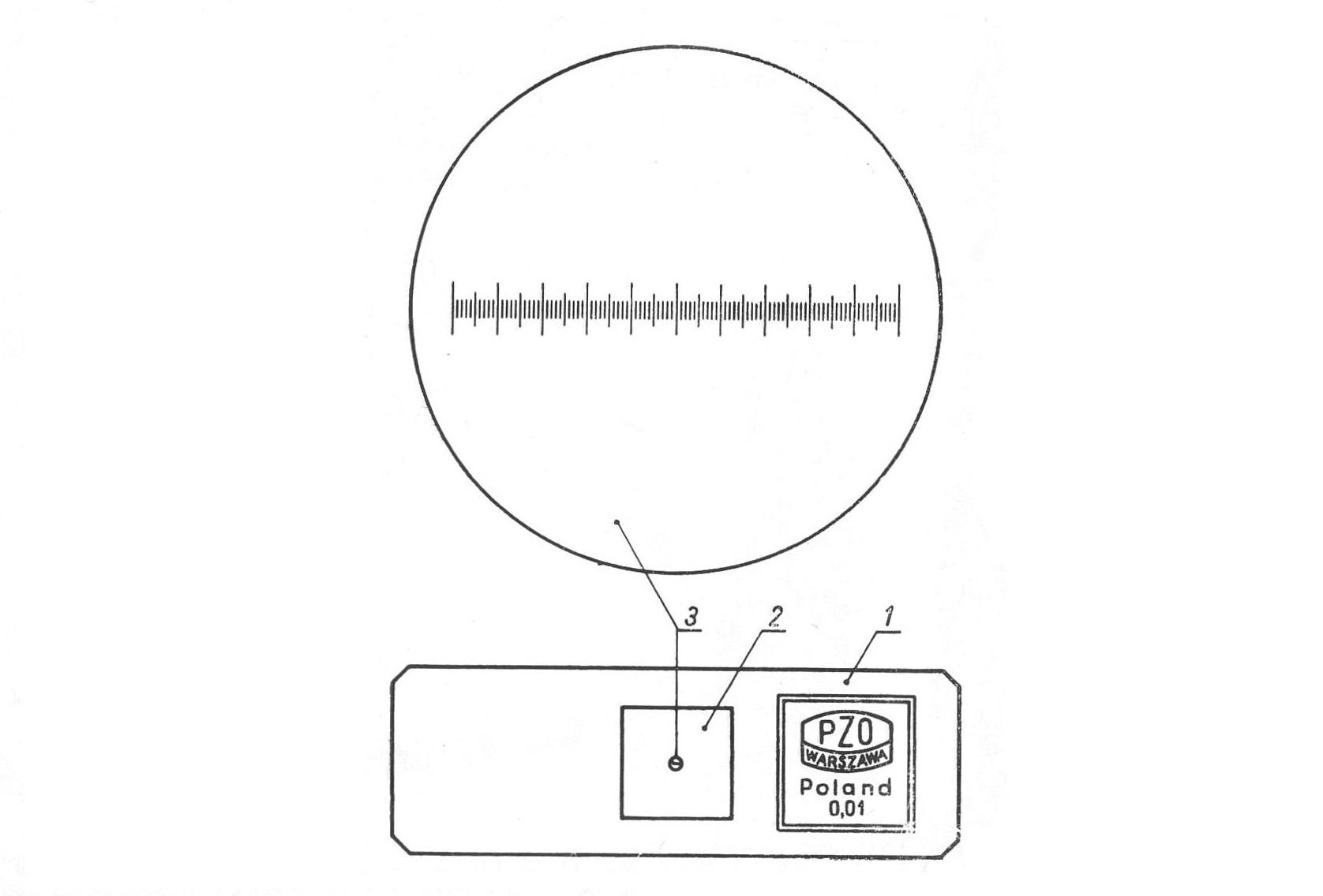 Микрометрический окуляр OK-15-КМ рис. 4