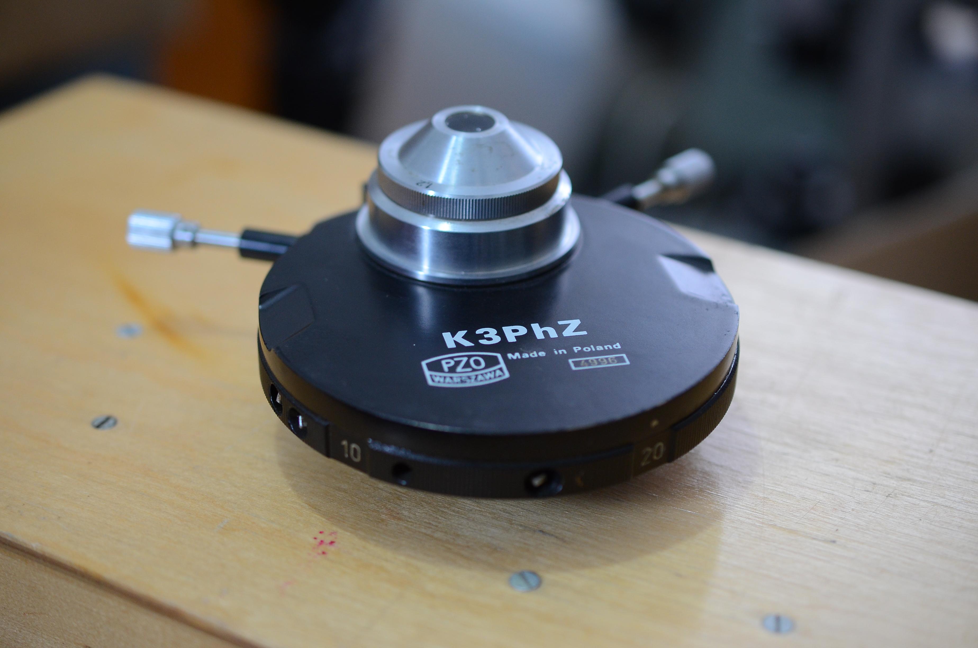 Конденсор переменного фазового контраста K3PhZ PZO