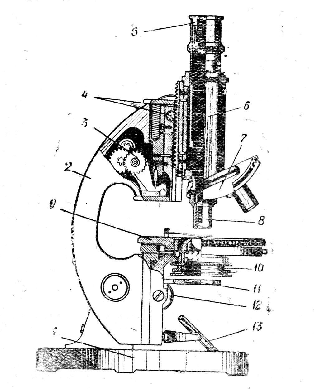 микроскоп м-9 рис.1