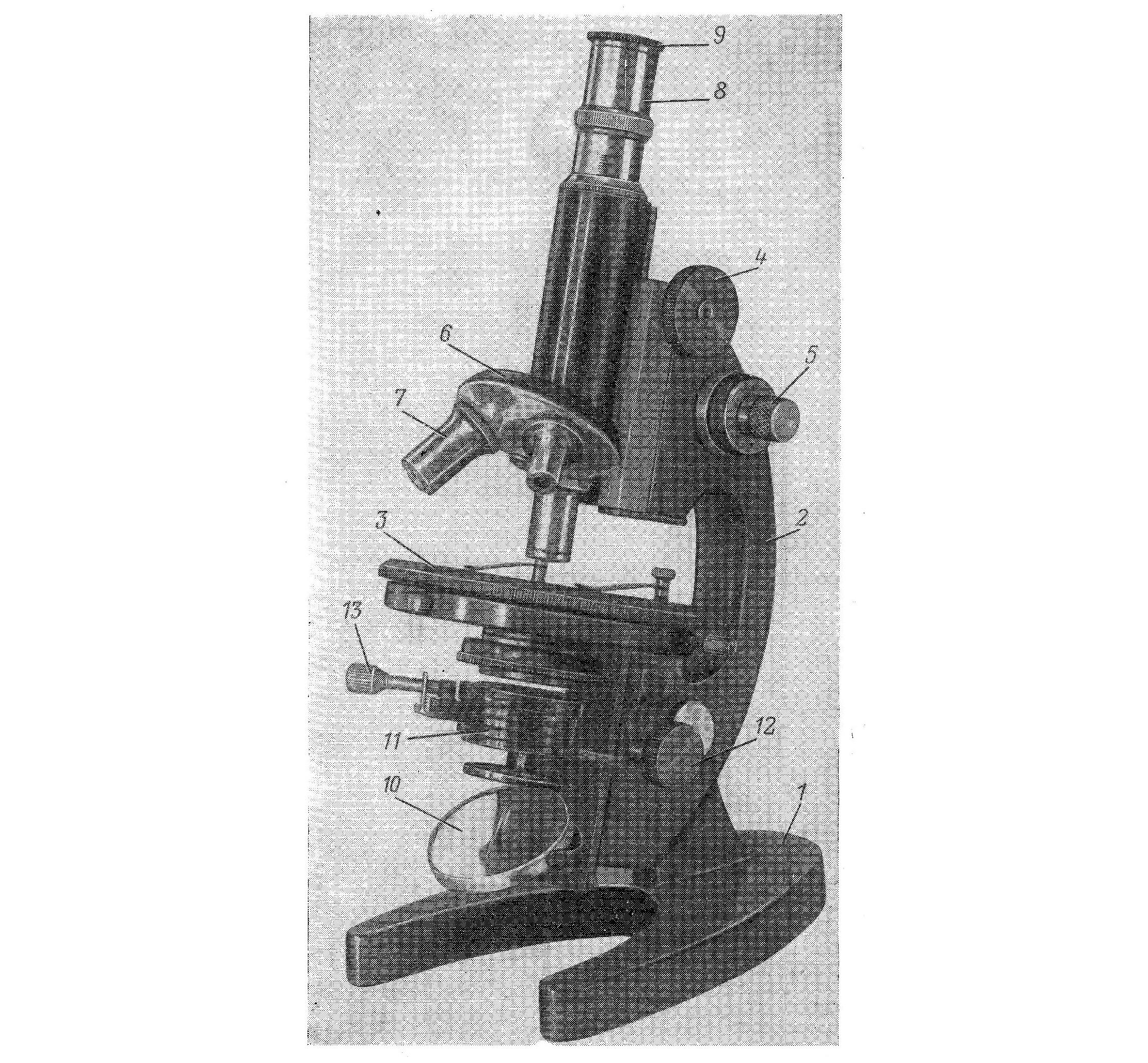 микроскоп биологический лабораторный м-11