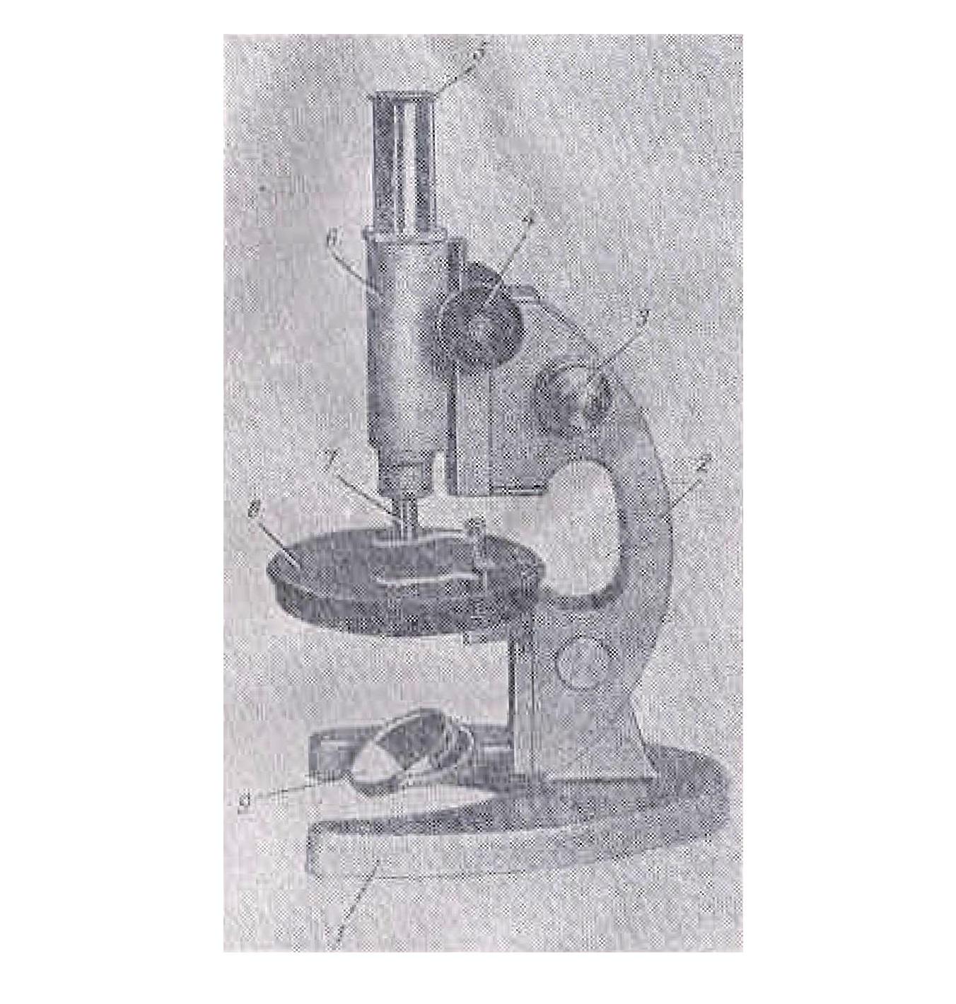 Микроскоп биологический упрощенный МБУ-4 рис. 2