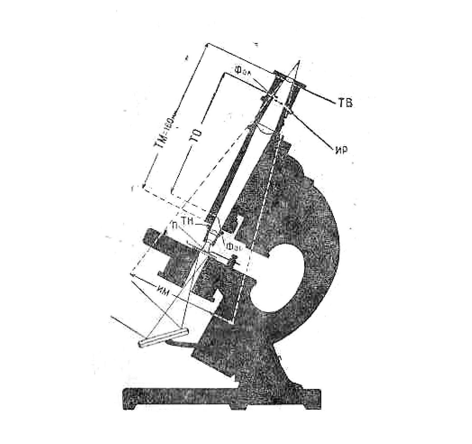 Микроскоп биологический упрощенный МБУ-4 рис. 1